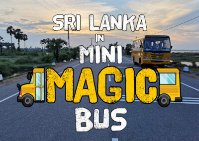 Sri Lanka in Mini Magic Bus